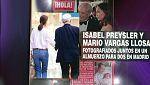 Corazón - Isabel Preysler y Mario Vargas Llosa ¿juntos?