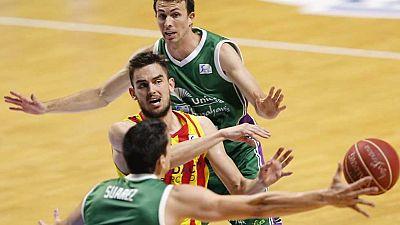 Baloncesto - Liga ACB. Play Off. Semifinales. 4� partido: Unicaja-FC Barcelona (1) - Ver ahora�