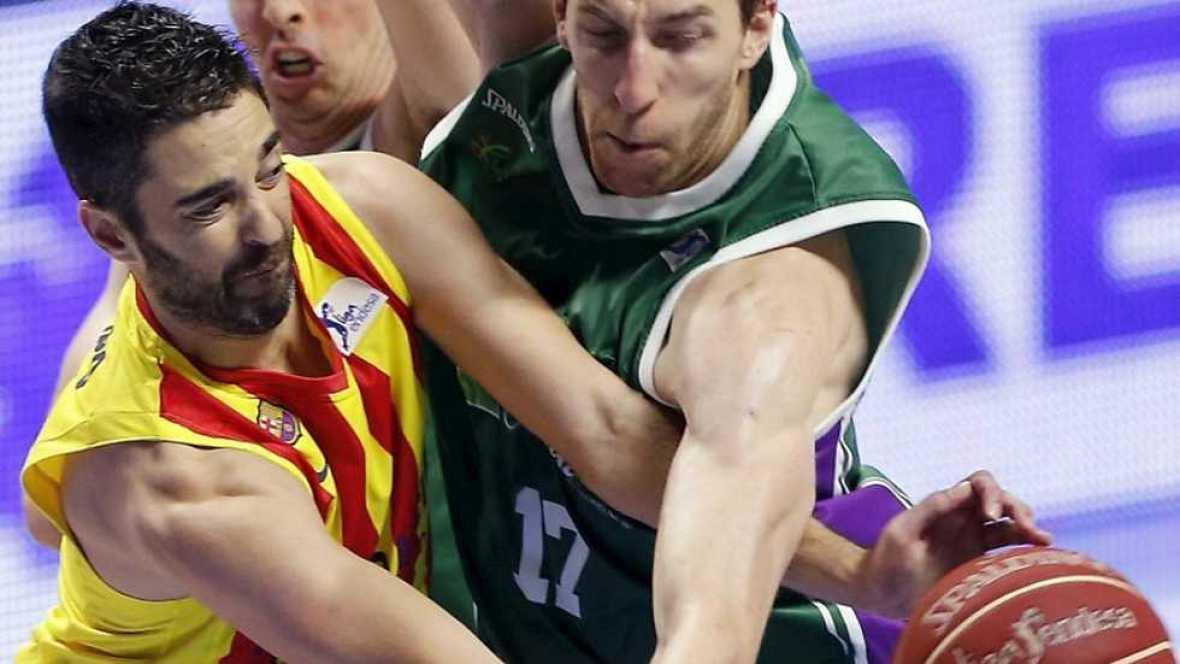 Baloncesto - Liga ACB. Play Off. Semifinales. 4º partido: Unicaja-FC Barcelona (2) - Ver ahora