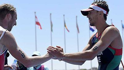 Juegos Europeos Bakú 2015 - Triatlón. Final masculina (1ª parte) - ver ahora