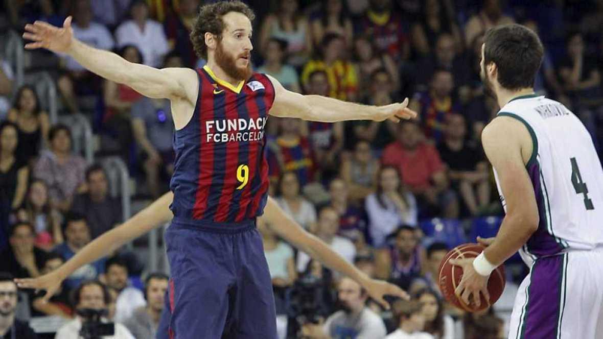 Baloncesto - Liga ACB. Play Off. Semifinales. 5º partido: FC Barcelona-Unicaja (2) - Ver ahora