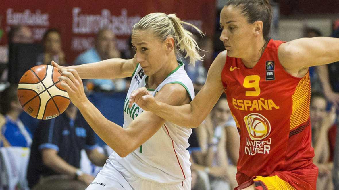 La selección española venció por 46-69 a Hungría, asegurándose el primer puesto del grupo D, a falta de una jornada, y la eliminación de Suecia y Hungría del Eurobasket 2015.