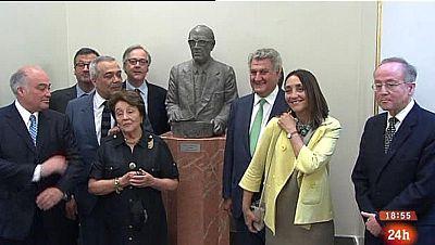 Parlamento - Conoce el parlamento - Busto de Calvo-Sotelo - 14/06/2015