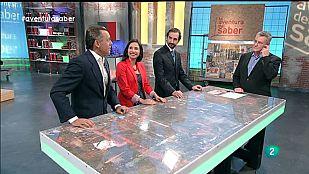 La Aventura del Saber. Sección #ConstruyeTuEmpresa. Arturo de las Heras junto a Elena Mª  Palacio y Jacobo Parages