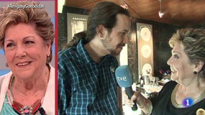 Paloma entrevista a Pablo Iglesias