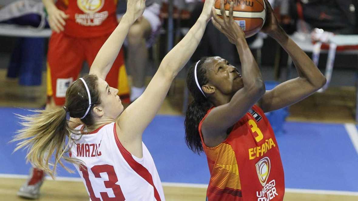 España sometió a Croacia en el primer partido de la segunda fase, en el que superaron con claridad a las balcánicas por 52-95.