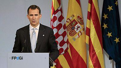 Felipe VI: 'Debemos afrontar los retos y superar los desafíos en un mundo en constante cambio'