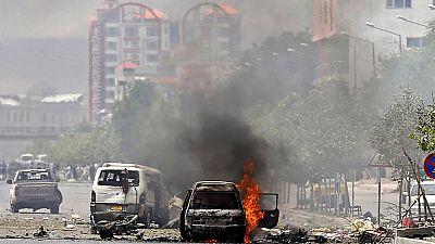 Los talibanes reivindican el ataque al Parlamento afgano