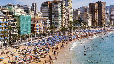 España logra un nuevo récord en la llegada de turistas extranjeros