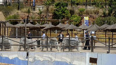 Fallece un ni�o ahogado en un parque acu�tico de Murcia