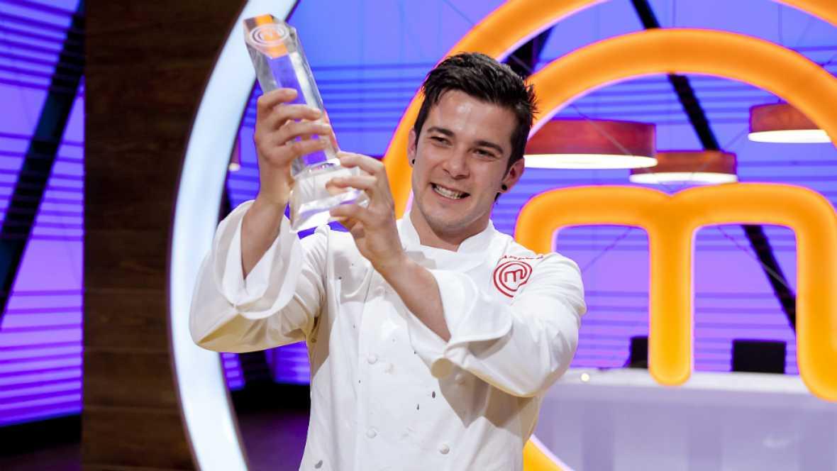 """Carlos, el ganador: """"MasterChef es de lo que más orgulloso me siento en mi vida"""""""