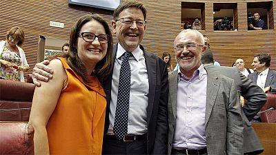 Ximo Puig, investido nuevo presidente de la Comunidad Valenciana