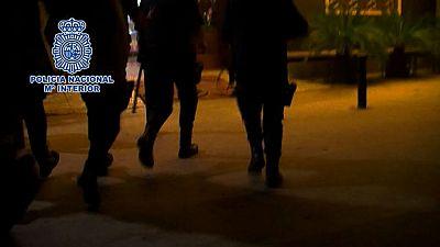 Liberan a seis mujeres chinas explotadas sexualmente en karaokes de Madrid