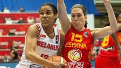 España 74 - Bielorrusia 58