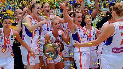 Serbia se corona campeona de Europa