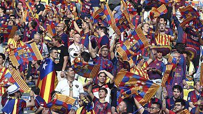 La UEFA ha abierto un expediente al FC Barcelona por masiva presencia de banderas independentistas, y de cánticos de ese signo, durante la final de la Liga de Campeones, que se disputó el pasado 6 de junio en Berlín, según ha confirmado a Efe el club