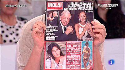 Amigas y conocidas - Isabel Preysler y Mario Vargas LLosa se presentan en sociedad