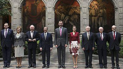 Última jornada del viaje de Estado de los Reyes a México