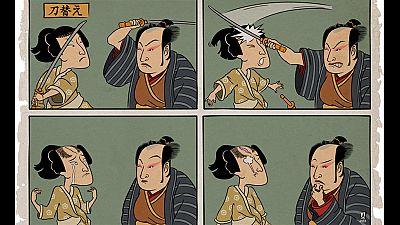'Kimoi', un c�mic de �ngel