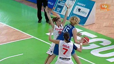 Baloncesto - Campeonato de Europa femenino Sub-20: España-Italia - ver ahora