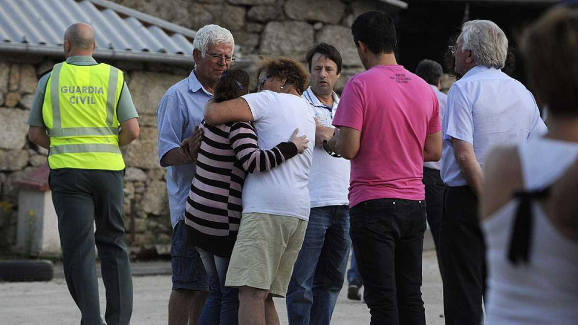 Tres muertos tras la explosión en una pirotecnia de Berán, en Ourense
