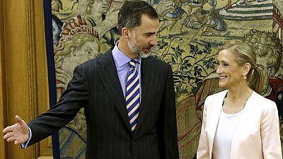 El Rey recibe a Cifuentes y Carmena, que le han explicado sus proyectos políticos