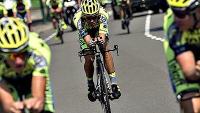 ).- Alberto Contador inicia el sueño del doblete en la 102 edición del Tour que comienza este sábado en Utrecht (Holanda) con el mejor cartel de favoritos de los últimos años, que incluye a otras estrellas como el italiano Vincenzo Nibali, el británi
