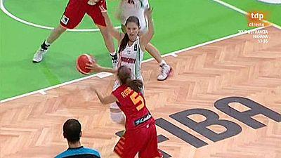 Baloncesto - Campeonato de Europa femenino Sub-20: España-Hungría - ver ahora