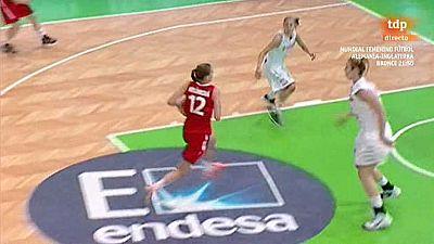 Baloncesto - Campeonato de Europa femenino Sub-20: España-República Checa - ver ahora
