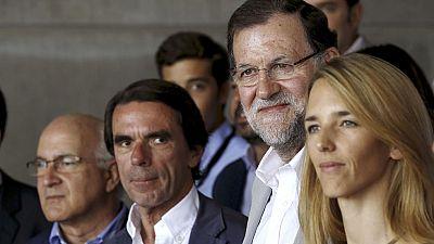 Rajoy y Aznar esperan un largo ciclo de crecimiento econ�mico