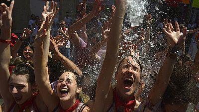 Con el tradicional 'chupinazo' han arrancado las fiestas de Pamplona
