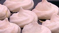 Pastelillos de merengue al horno