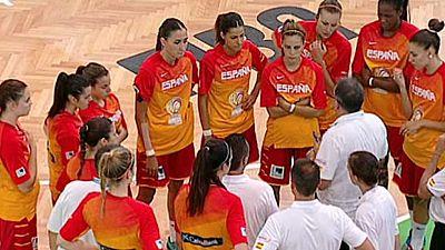Baloncesto - Campeonato de Europa femenino Sub-20: Bélgica-España - ver ahora
