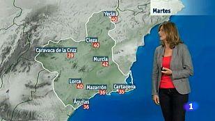 El tiempo en la Región de Murcia - 07/07/2015