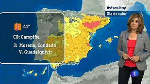 El tiempo Andalucía - 07/07/2015