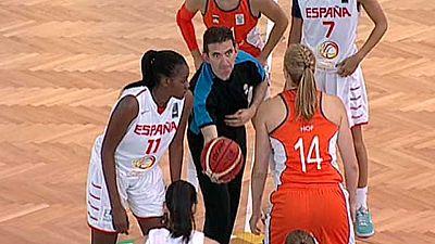 Baloncesto - Campeonato de Europa femenino Sub-20, 2ª fase: Holanda-España - ver ahora