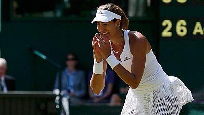 Garbiñe Muguruza, cuarta finalista española en Wimbledon