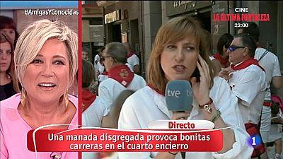 Amigas y Conocidas - Ning�n herido en el cuarto encierro de San Ferm�n