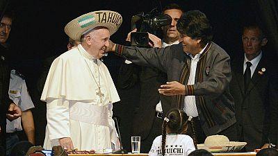 El Papa pide perdón por los crímenes de la Iglesia durante la conquista de América