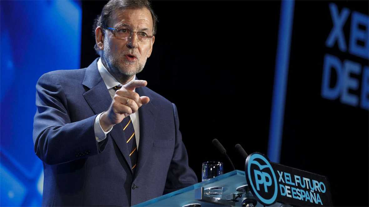 Rajoy abre por sorpresa la conferencia del PP atacando a PSOE y Podemos