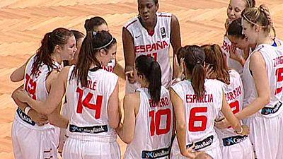 Baloncesto - Campeonato de Europa femenino Sub-20. 1/4 Final: España-Polonia - ver ahora