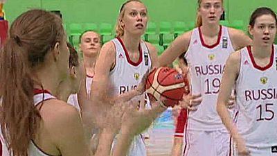 Baloncesto - Campeonato de Europa femenino Sub-20. 1/4 Final: Rusia-Portugal - Ver ahora