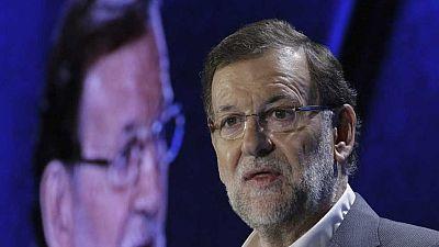 """Rajoy, en la Conferencia Política del PP: Si gobierna la izquierda, volverá la """"pesadilla"""""""