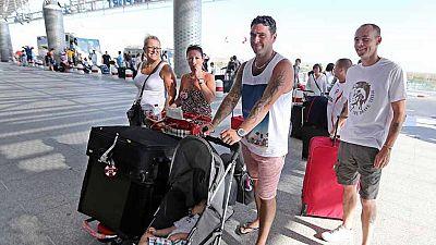 Turistas británicos continúan saliendo de Túnez