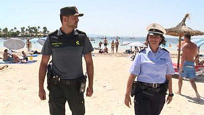 Policías extranjeros patrullarán Baleares con la Guardia Civil