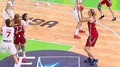 Baloncesto - Campeonato de Europa Femenino Sub-20. 2ª Semifinal: España- Rusia - Ver ahora