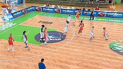 Baloncesto - Campeonato de Europa Femenino Sub-20. 1ª Semifinal: Francia-Holanda - Ver ahora