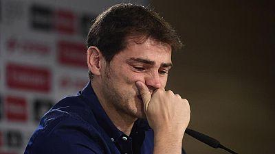 """Casillas: """"Allá donde vaya seguiré gritando ¡Hala Madrid!"""""""