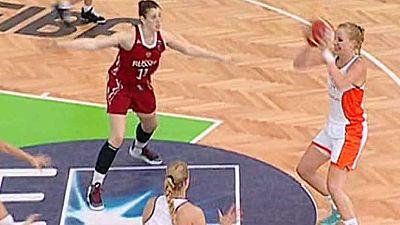 Baloncesto - Campeonato de Europa Femenino Sub-20.  3r y 4º puesto: Rusia-Holanda - Ver ahora