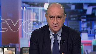 """Fernández Díaz: """"El nivel de alerta se mantendrá hasta que los servicios de lucha antiterrorista lo indiquen"""""""